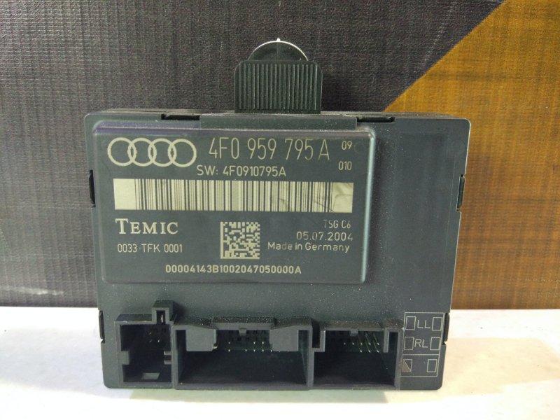 Блок управления дверьми Audi A6 C6 AUK 2004