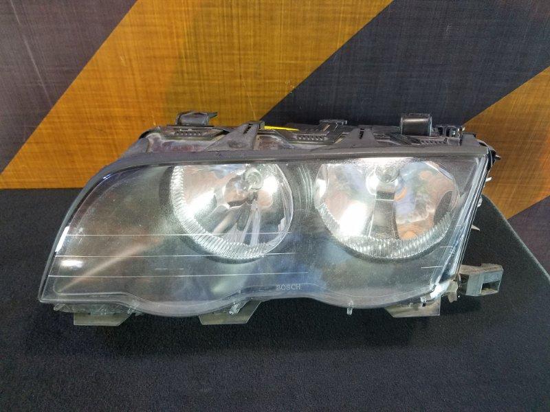 Фара Bmw 320I E46 M54 2001 левая