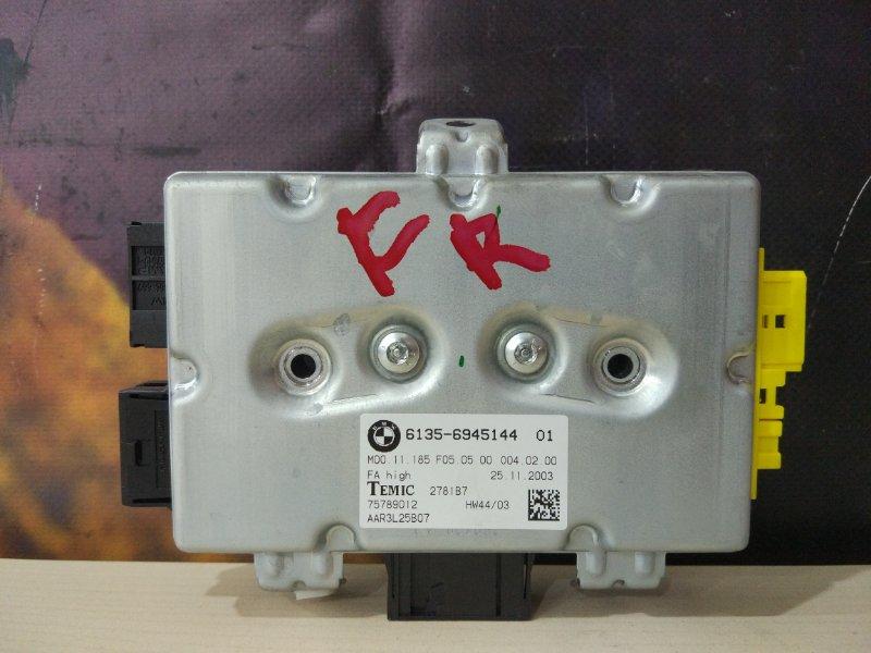 Блок управления дверьми Bmw 525I E60 M54 2004 передний правый