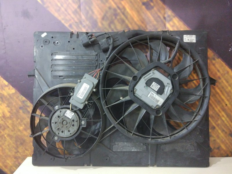 Вентилятор радиатора Volkswagen Touareg 7L AXQ 2003