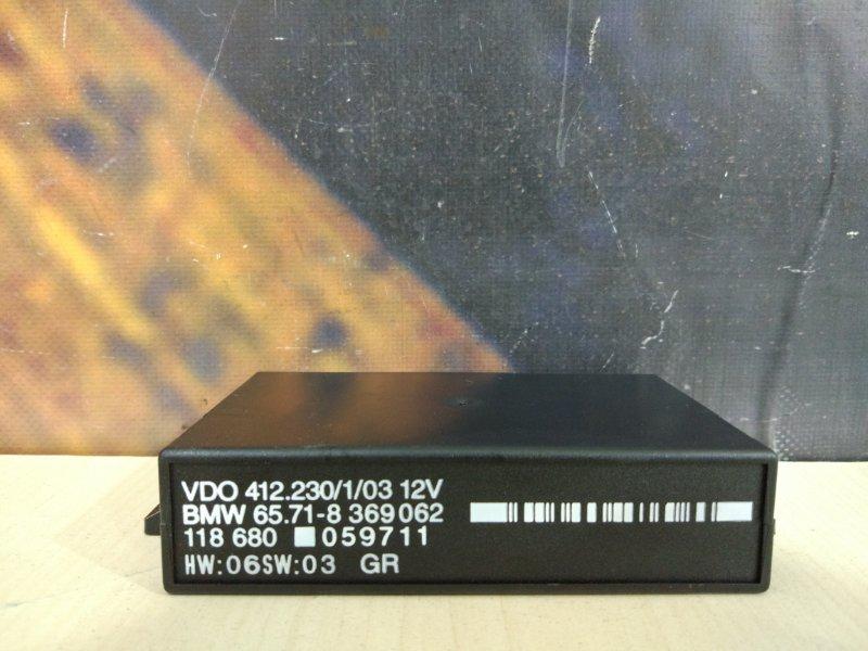 Блок управления круиз-контролем Bmw 528I E39 M52 1997