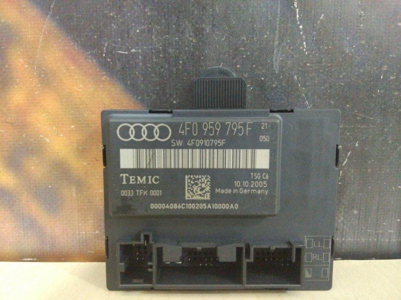 Блок управления дверьми Audi A6 C6 BDW 2005 задний левый