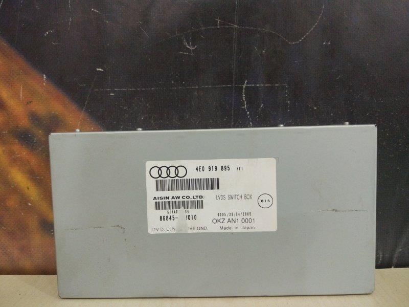 Блок навигации Audi A6 C6 BDW 2005