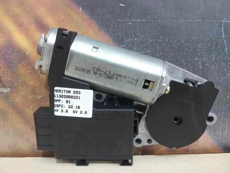 Мотор люка Bmw X5 E53 M62 2001