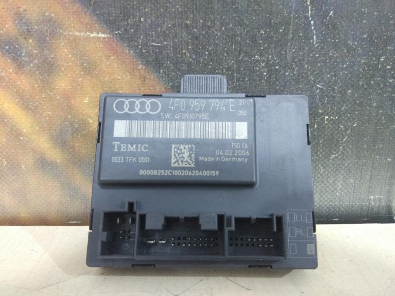 Блок управления дверьми Audi A6 C6 AUK 2006