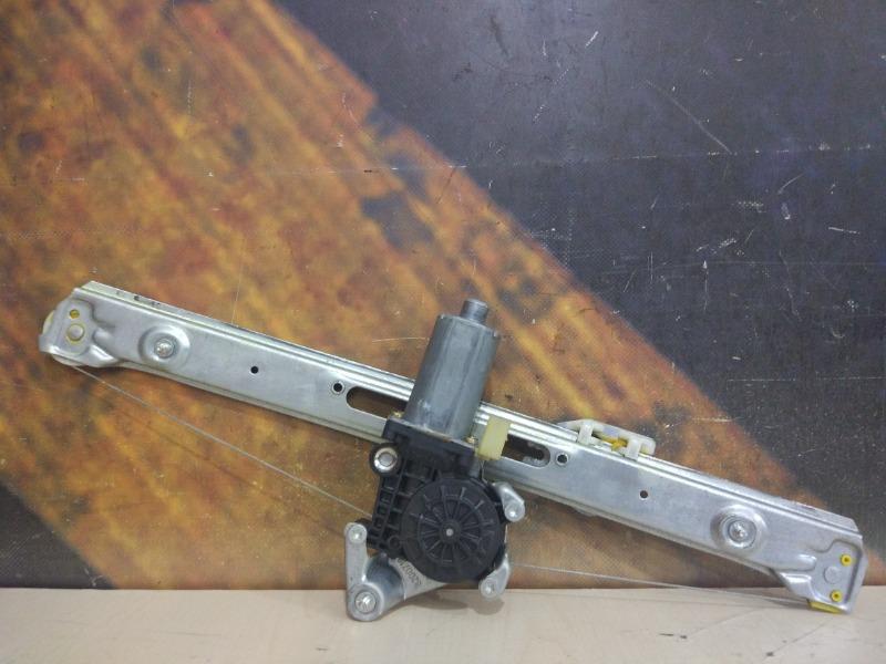 Стеклоподъемник Bmw 325I E46 M54 2004 задний правый