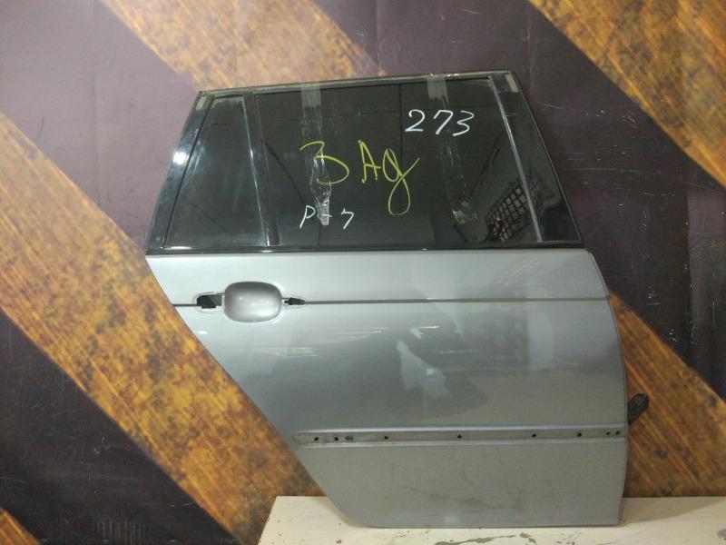 Дверь Bmw 325I E46 M54 2004 задняя правая