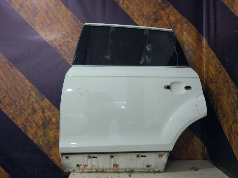 Дверь Audi Q7 4L BAR 2006 задняя левая