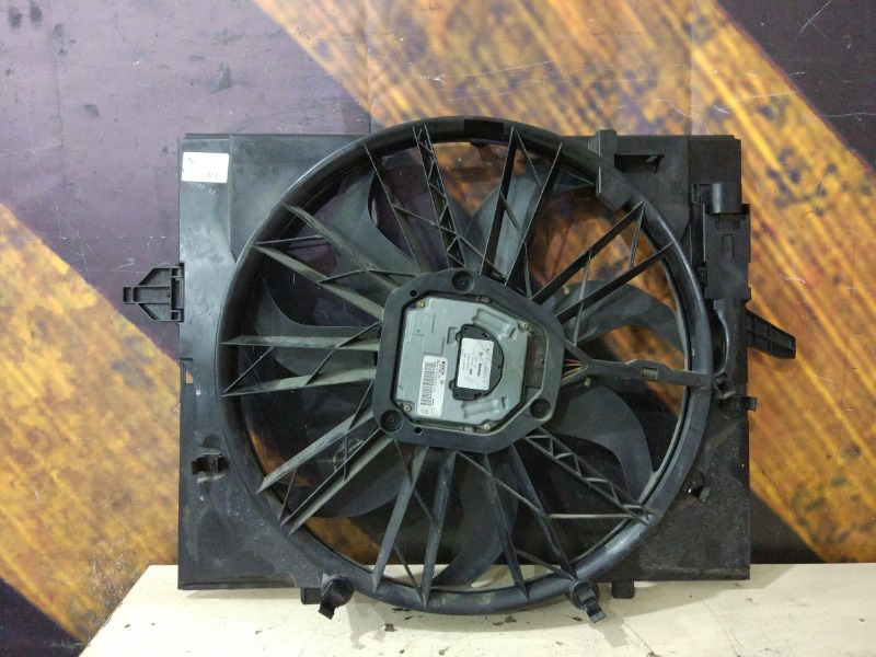 Вентилятор радиатора Bmw 530I E60 M54 2003