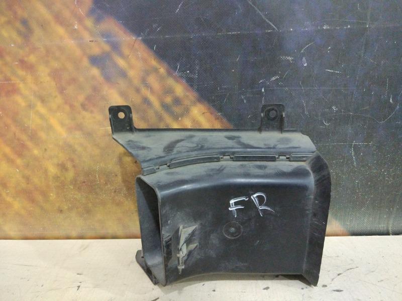 Воздуховод охлаждения тормозов Bmw 530I E60 M54 2003 правый