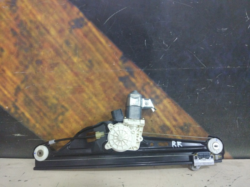 Стеклоподъемник Bmw 530I E60 M54 2003 задний правый