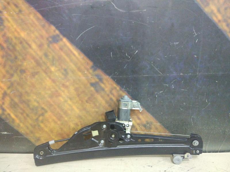 Стеклоподъемник Bmw 530I E60 M54 2003 задний левый