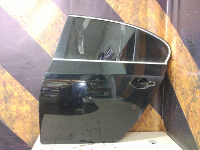 Дверь Bmw 530I E60 M54 2003 задняя левая