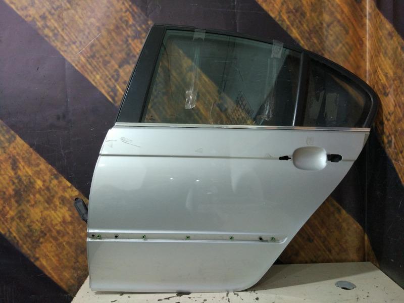 Дверь Bmw 330I E46 M54 2000 задняя левая