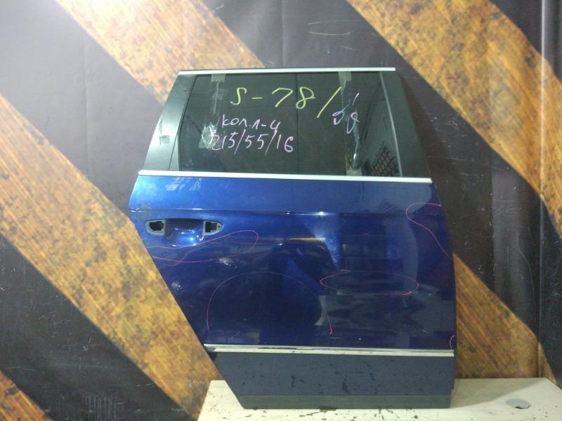 Дверь Volkswagen Passat Variant B6 BVY 2006 задняя правая
