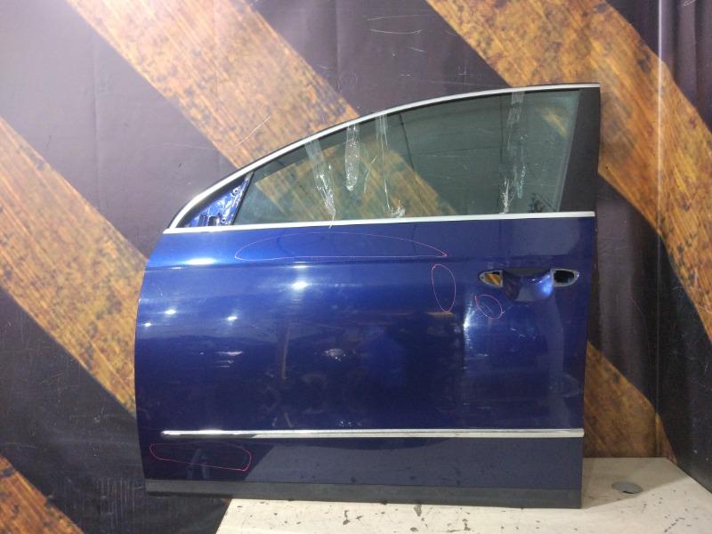 Дверь Volkswagen Passat Variant B6 BVY 2006 передняя левая