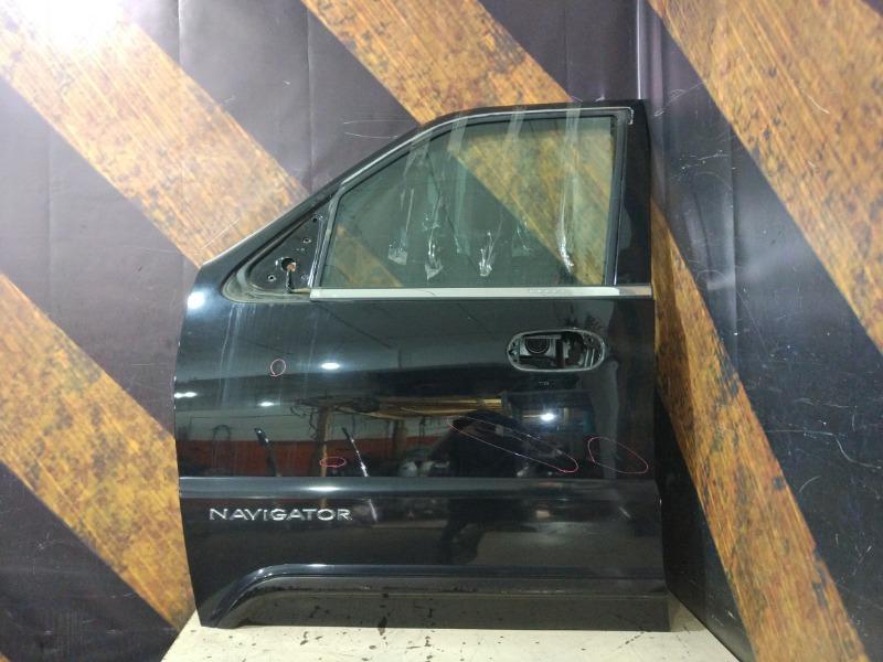 Дверь Lincoln Navigator 5.4L DOHC 2002 передняя левая