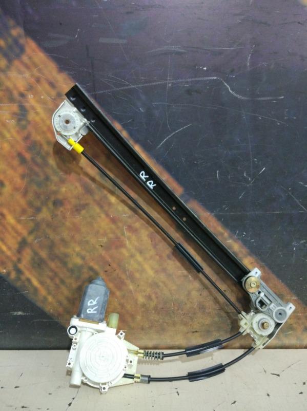 Стеклоподъемник Bmw 525I E39 M52 1998 задний правый