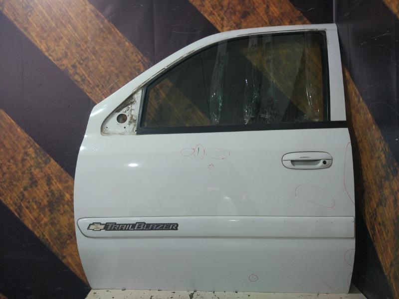 Дверь Chevrolet Trailblazer GMT360 LL8 2004 передняя левая