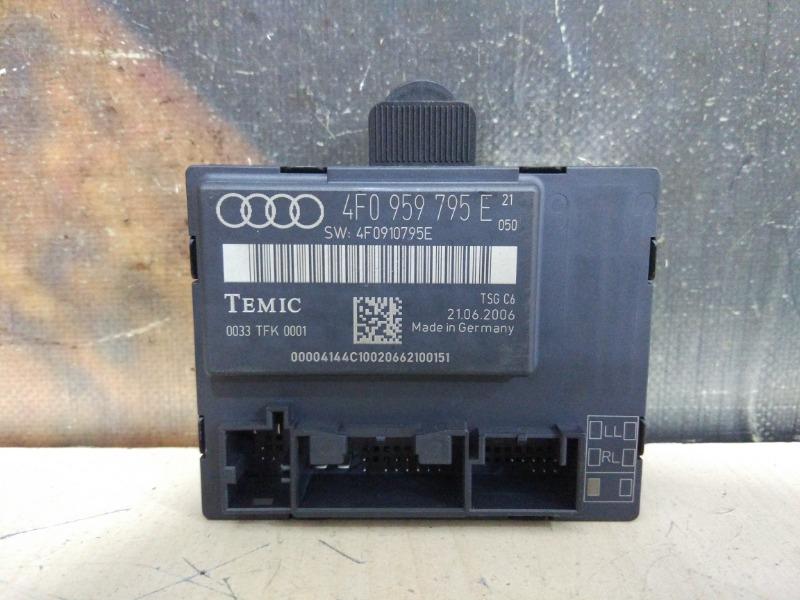 Блок управления дверьми Audi A6 Allroad C6 AUK 2006 задний левый