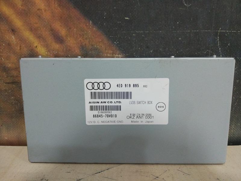 Блок навигации Audi A6 Allroad C6 AUK 2006