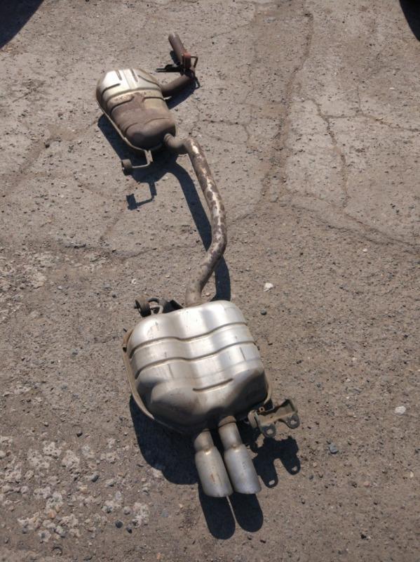 Глушитель Volkswagen Passat Variant B6 BVY 2006
