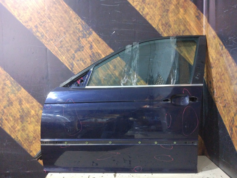 Дверь Bmw 320I E46 M54 2001 передняя левая