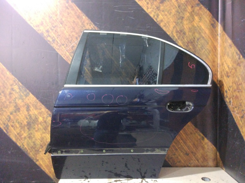 Дверь Bmw 525I E39 M52TU 1999 задняя левая