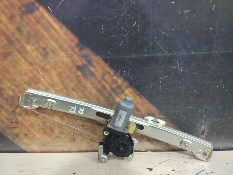 Стеклоподъемник Bmw 320I E46 M54 2001 задний правый