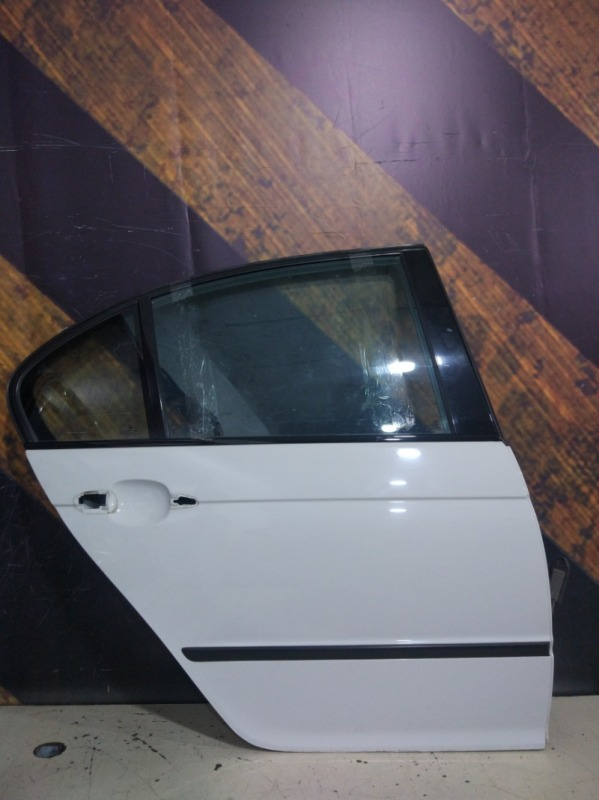 Дверь Bmw 320I E46 M54 2001 задняя правая