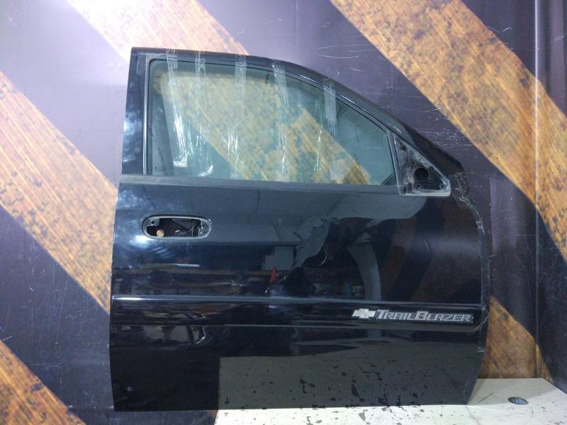 Дверь Chevrolet Trailblazer GMT360 LL8 2004 передняя правая