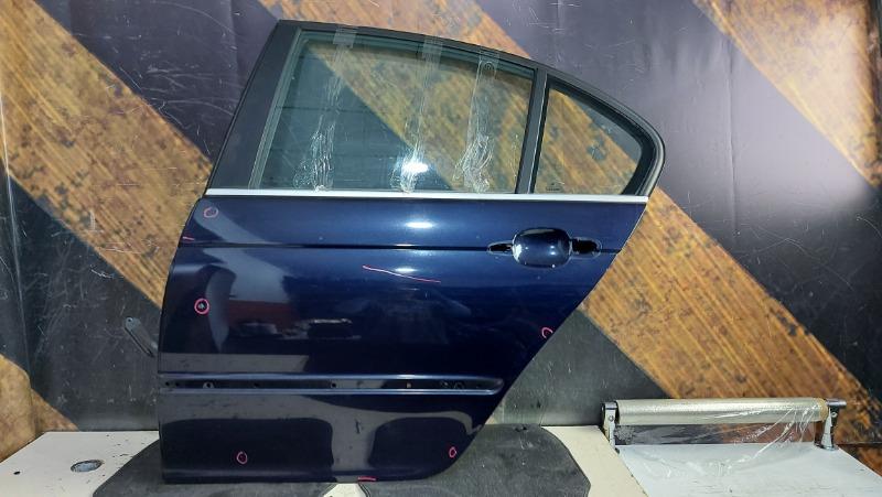 Дверь Bmw 320I E46 M54 2000 задняя левая