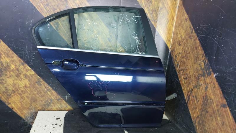 Дверь Bmw 320I E46 M54 2000 задняя правая