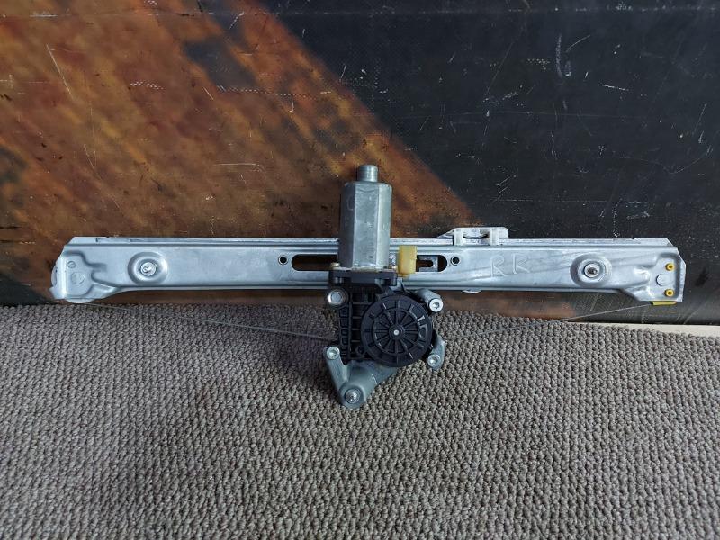 Стеклоподъемник Bmw 320I E46 M54 2000 задний правый