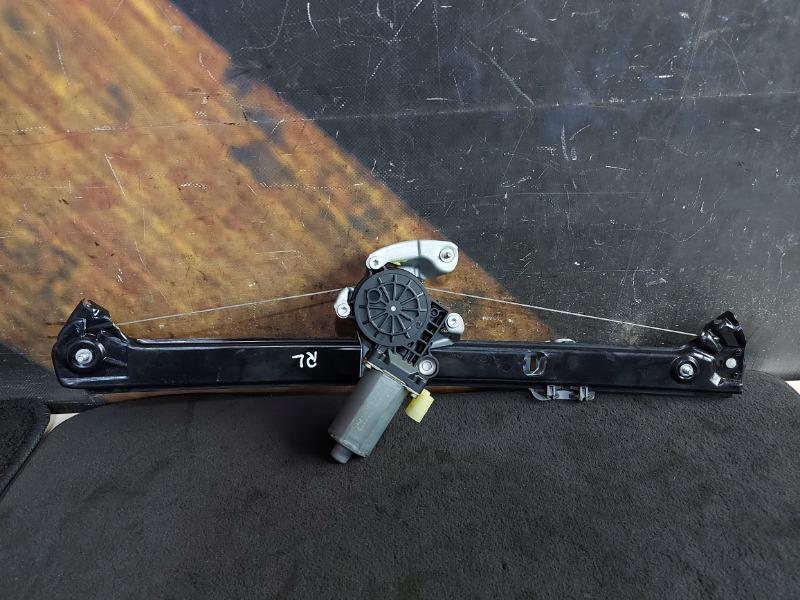 Стеклоподъемник Bmw X5 E53 M54 2002 задний левый