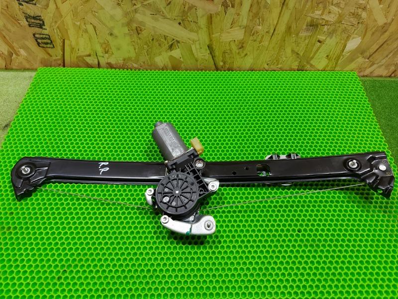 Стеклоподъемник Bmw X5 E53 M54 2005 задний правый