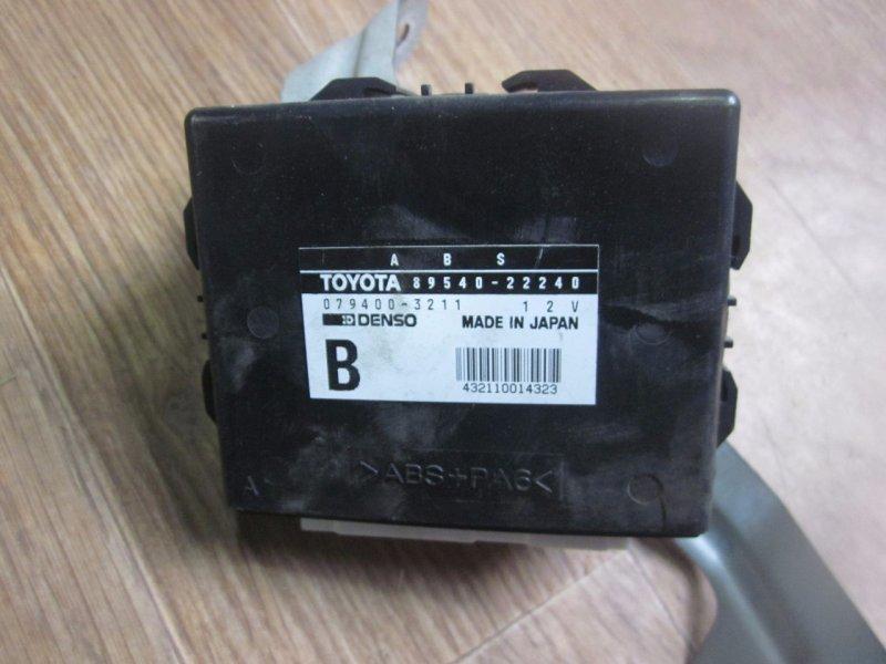 Блок управления abs Toyota Chaser GX100 1GFE