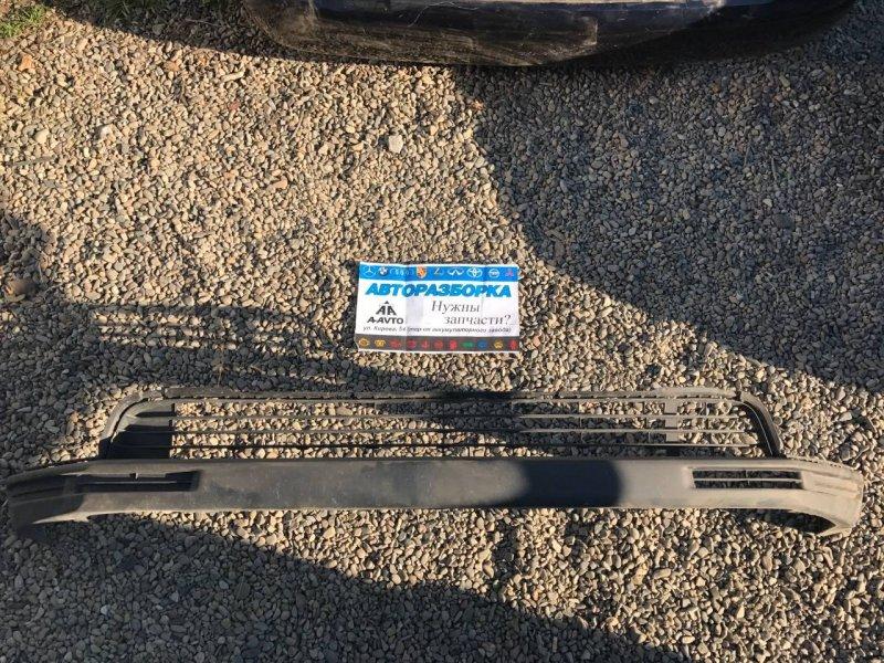 Накладка на бампер Toyota Highlander GSU50 2GRFKS передняя