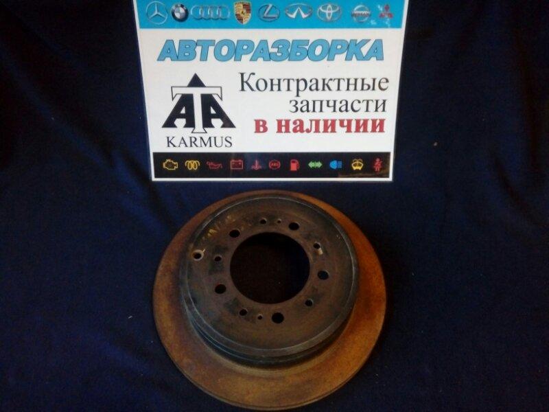 Тормозной барабан Toyota Sequoia UPK60L 3URFE задний