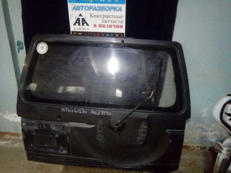 Дверь багажника Mitsubishi Pajero V26W задняя