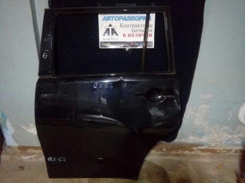 Дверь Infiniti Qx56 Y62 VK56VD задняя левая