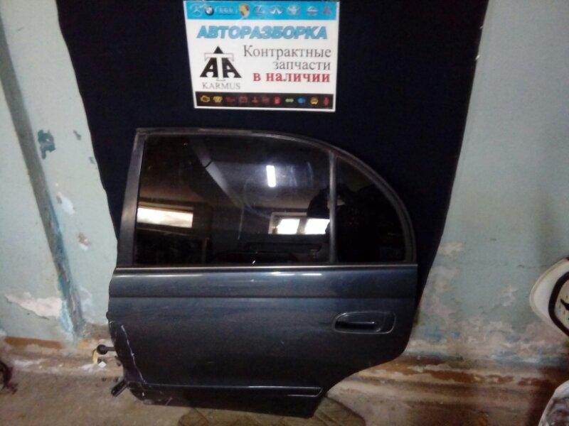 Дверь Toyota Carina E AT190 3SFE задняя левая