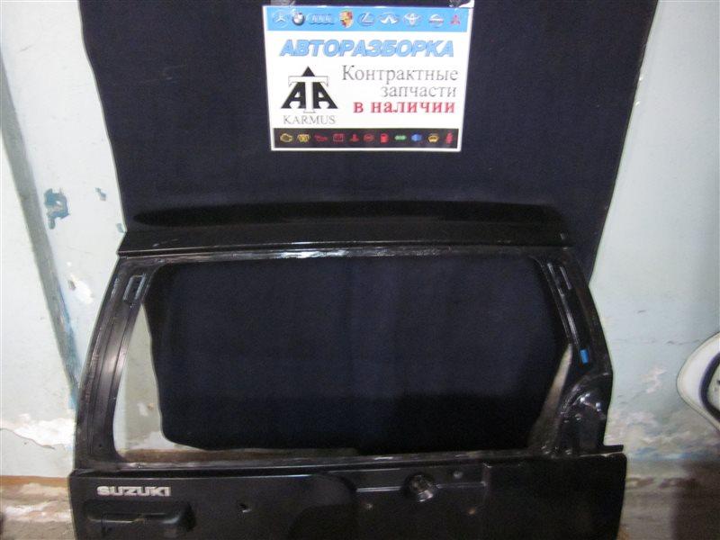 Дверь багажника Suzuki Grand Vitara TD02W