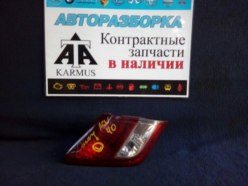 Стоп-вставка Toyota Camry ACV40 2AZFE левая