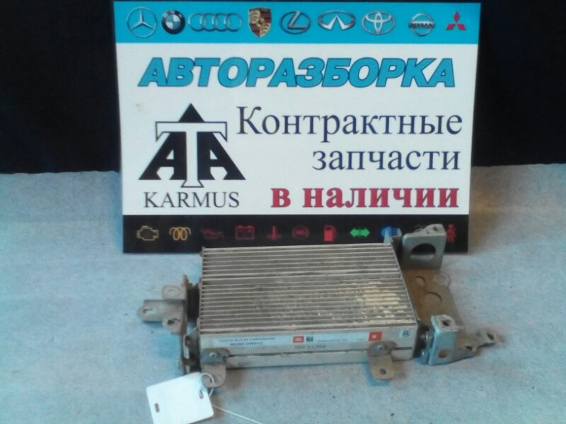 Усилитель звука Toyota Aristo JZS161 2JZGE