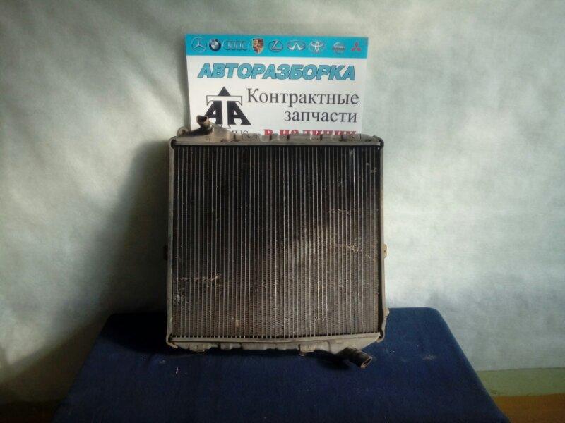 Радиатор основной Toyota Hiace KZH106W 1KZTE нижний