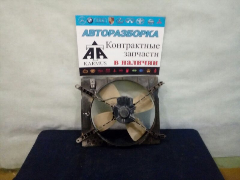 Диффузор радиатора Toyota Gaia SXM10 3SFE левый