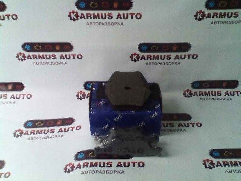 Колодки тормозные Bmw 3-Series E93 52B25A передние