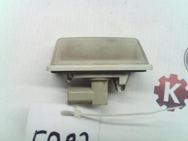 Подсветка номера Toyota Allex ZZE123 2AZFE передняя правая