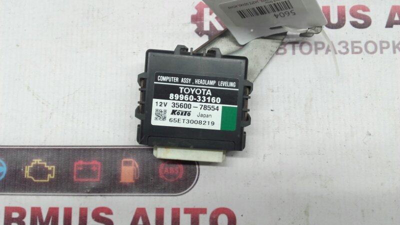 Электронный блок Toyota Camry GSV40 2GRFE
